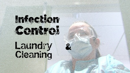 Infection Control: Laundry & Cleaning